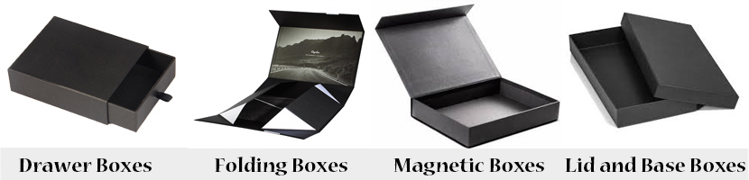 Beauty supply storage boxes