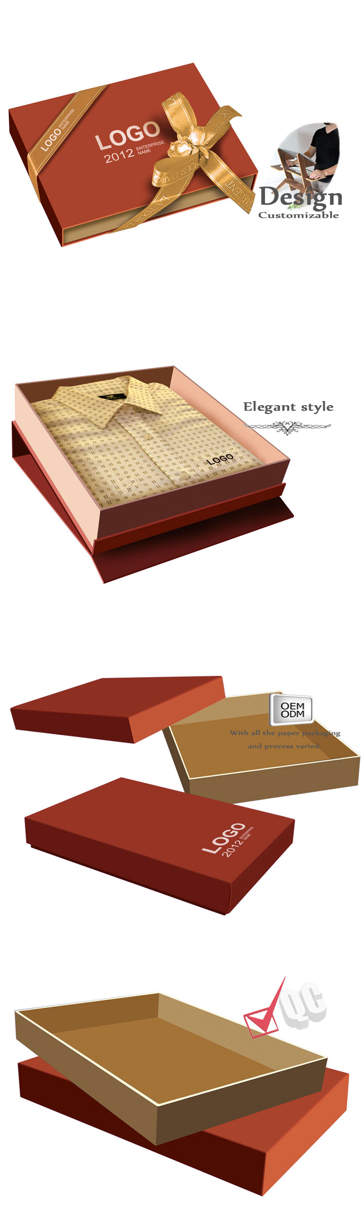 Luxury Clothing Packaging Boxes
