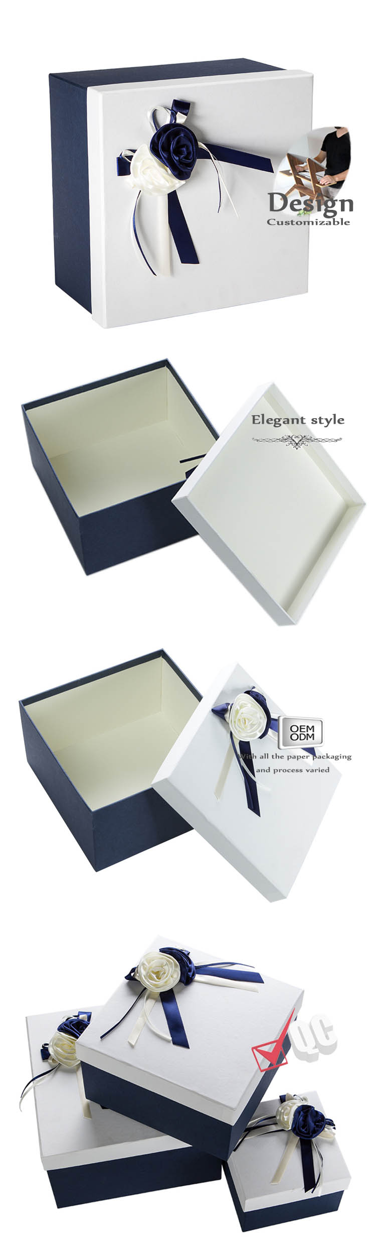 birthday gift boxes with lids