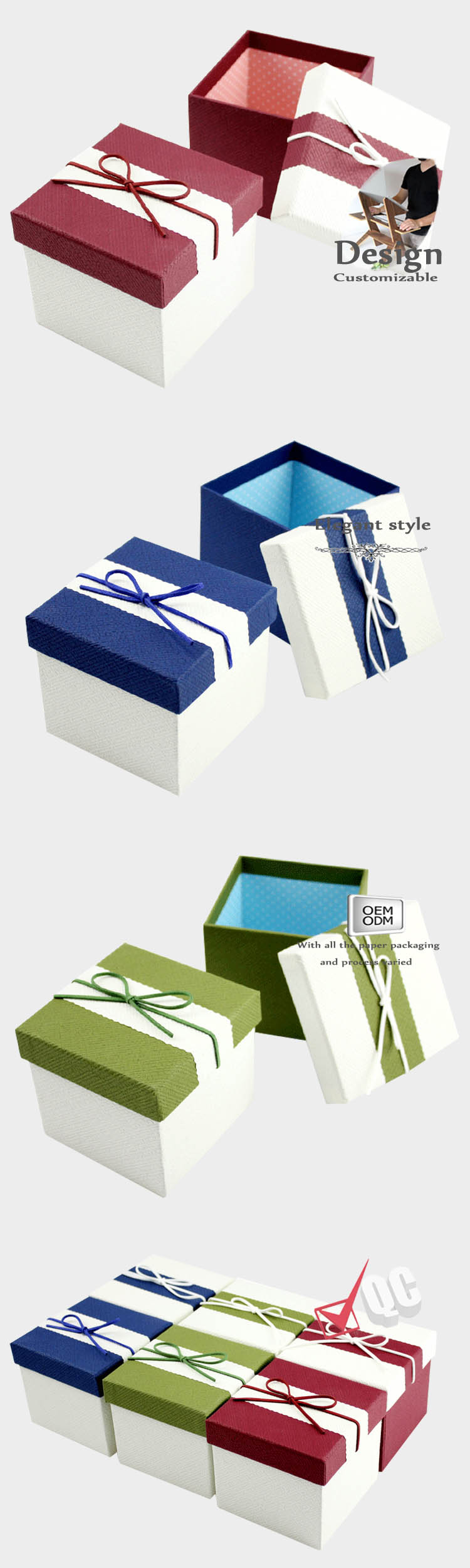 Large - capacity Paper Gift Box