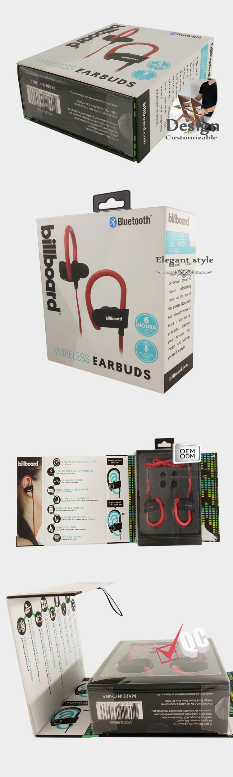 Bluetooth Headset Packaging