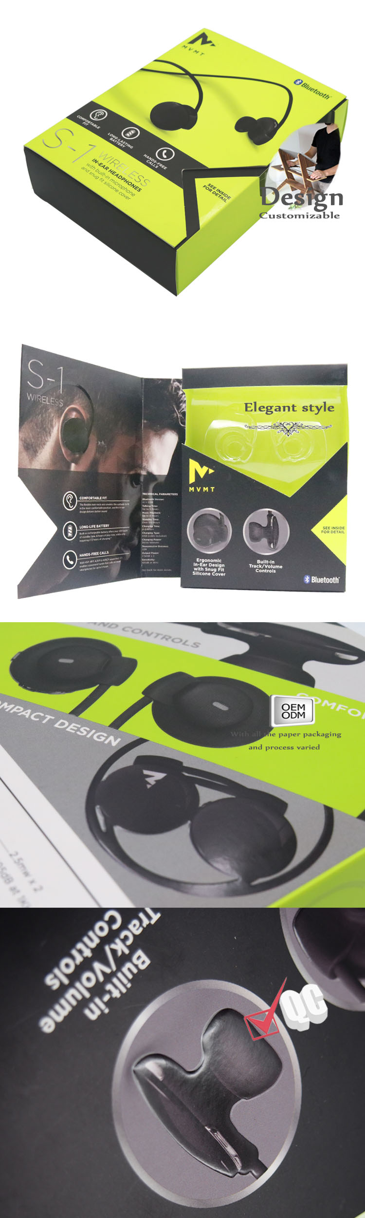 Headset packaging mass customization