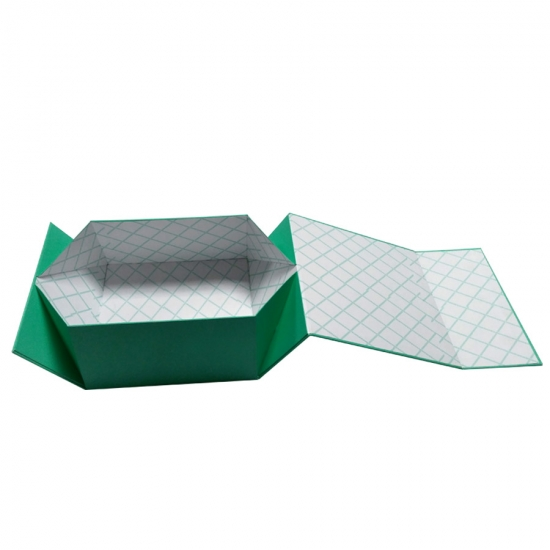 Folding box packaging
