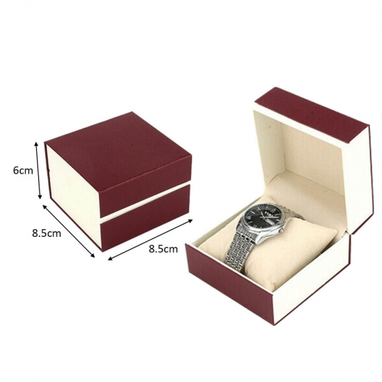 Carton d'emballage simple montre