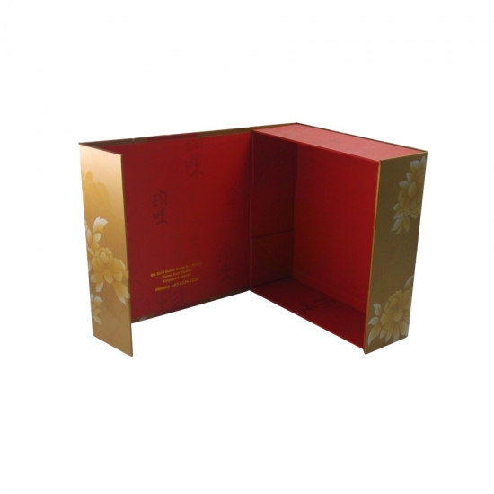Folding Gift Box With Handle